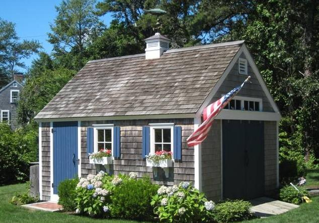 Curb Appeal for the Garden Shed Calling it Home