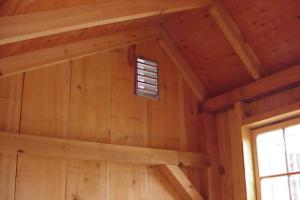 Classic New England Post And Beam Sheds Storage Shed