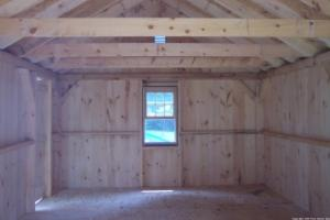 how to build a post and beam shed foundation